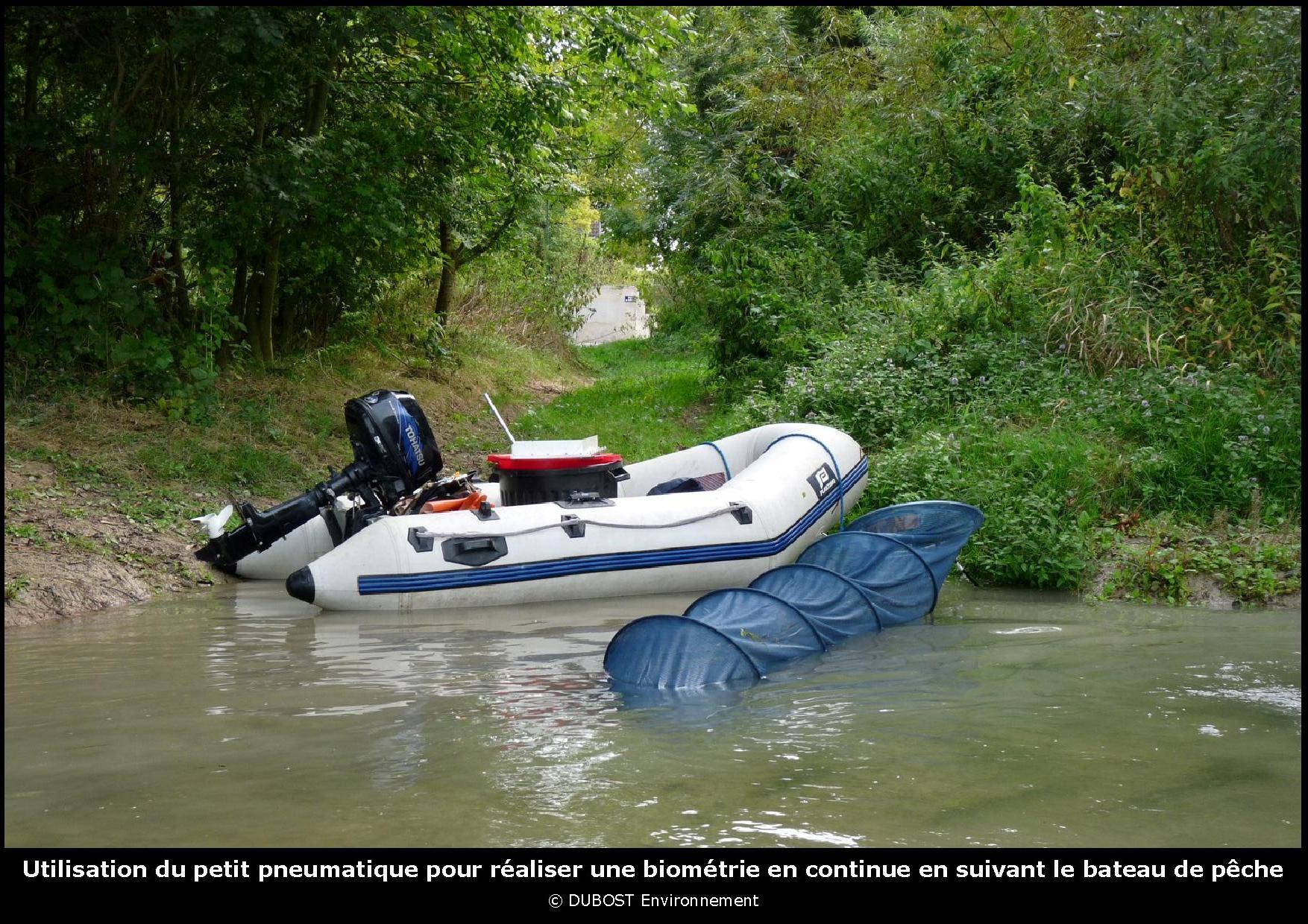 bateau de peche avec moteur 6cv