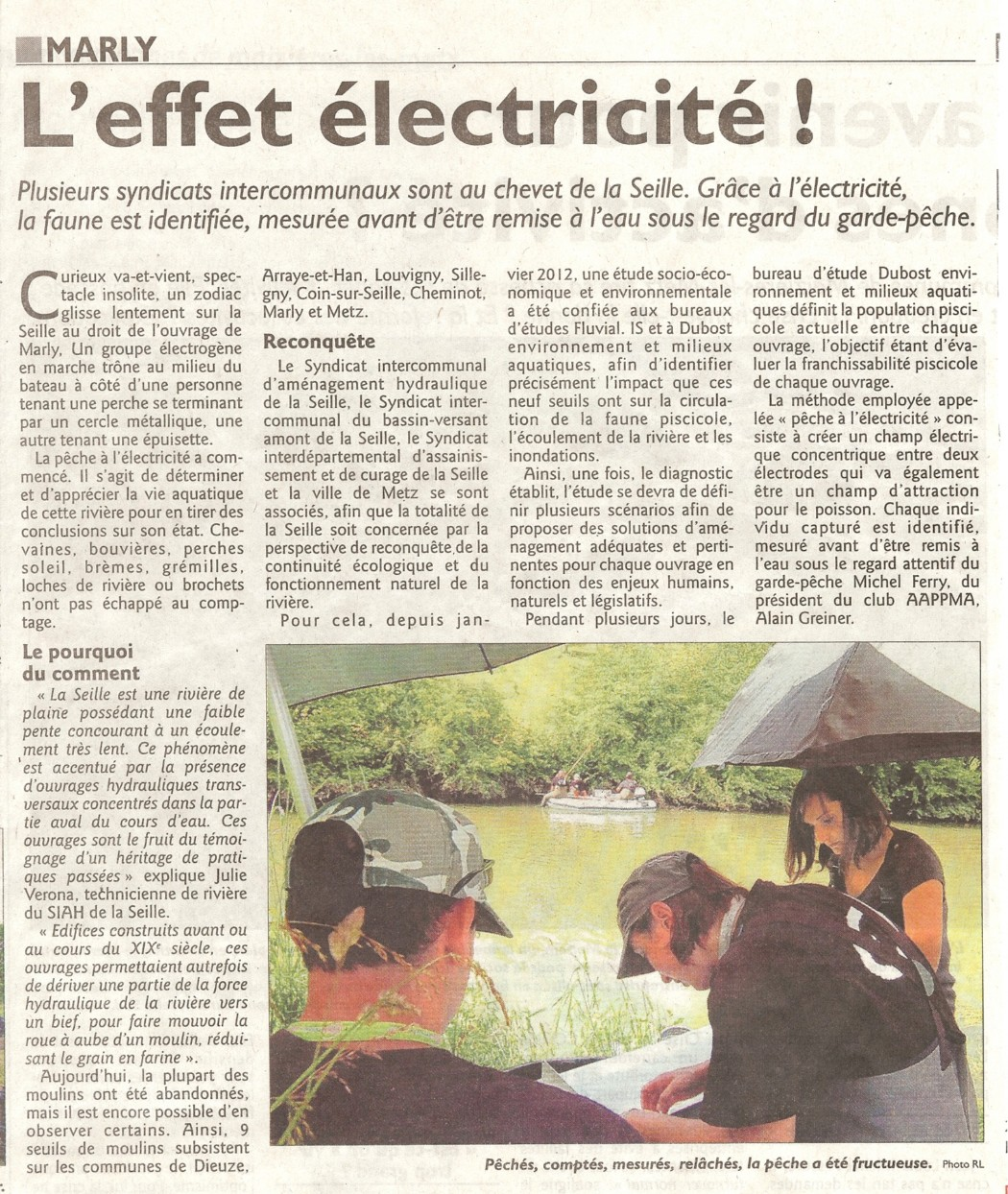 Artciles de journaux parlant du bureau d 39 tudes dubost environnement - Bureau d etude environnement paris ...